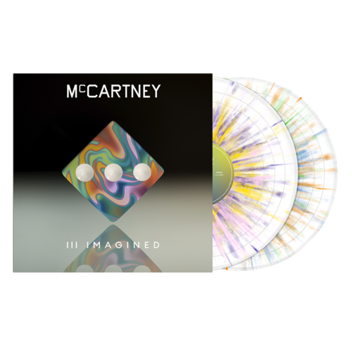 Paul McCartney: McCartney III Imagined - Limited Edition Exclusive Splatter 2LP