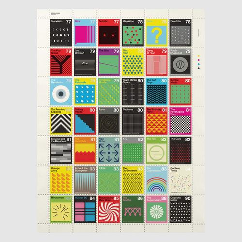 Dorothy: Stamp Albums: Post-Punk Litho Print Poster
