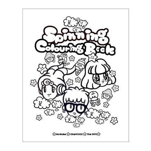 No Rome: Spinning Colouring Book
