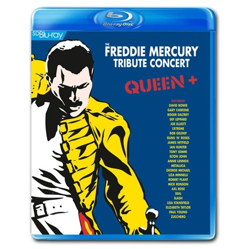 The Freddie Mercury Tribute Concert Blu-ray