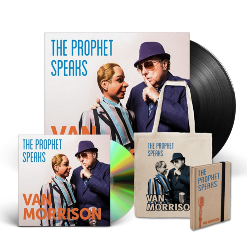 Van Morrison: Prophet CD, Vinyl, Tote Bag & Notepad