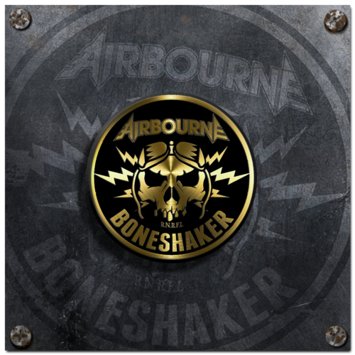 Airbourne: Boneshaker Enamel Badge