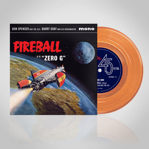 Original Soundtrack: Fireball XL5: Limited Edition Transparent Orange Vinyl 7