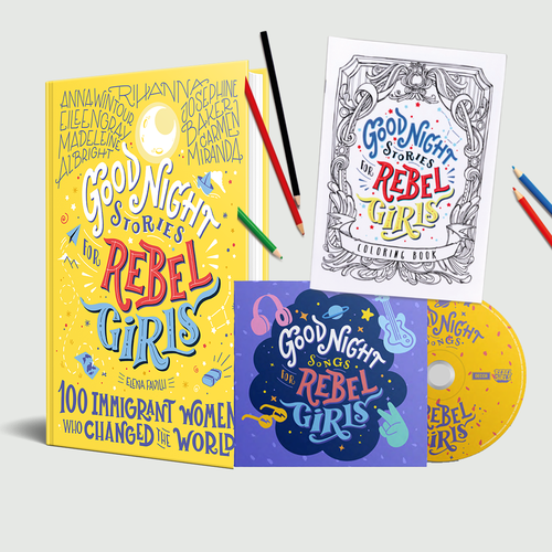 Rebel Girls: Goodnight Songs For Rebel Girls Deluxe Bundle