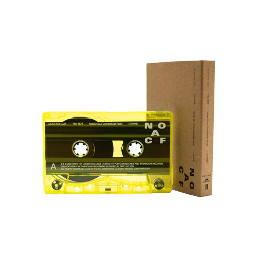 The 1975: NOTES ON A CONDITIONAL FORM – RECYCLED PLASTIC NEON YELLOW CASSETTE