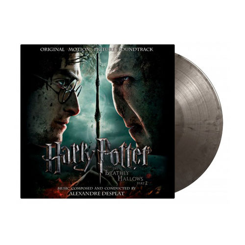 Original Soundtrack: Harry Potter and the Deathly Hallows Pt. 2: Limited Edition Silver & Black Swirled Vinyl