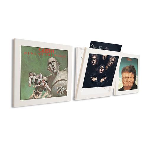 Art Vinyl: Art Vinyl Play & Display Flip Frame - White (Triple)
