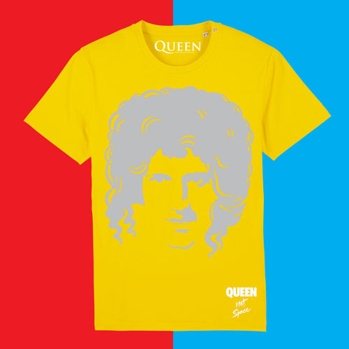 Queen: Limited Edition Hot Space Brian T-Shirt