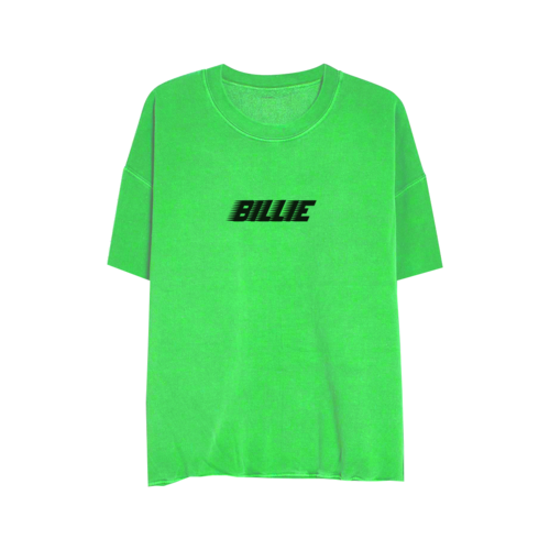 Billie Eilish: Billie Green Slime Sweatshirt Tee