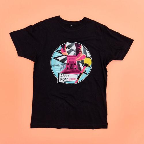 Abbey Road Studios: Abbey Road Landmarks Black T-Shirt