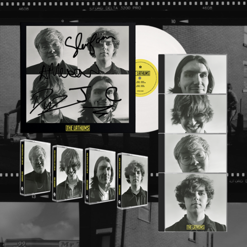 The Lathums: How Beautiful Life Can Be: Signed Band Portrait Vinyl, All Band CDs + All Band Cassettes