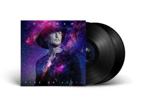 Tim Mcgraw: UK Vinyl: Here On Earth