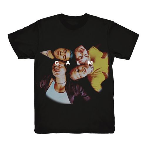 5 Seconds of Summer: Calm Black Group T-Shirt - S