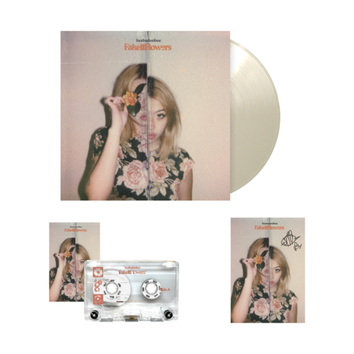 Beabadoobee: Fake It Flowers Exclusive Natural + Clear LP Bundle (Signed)