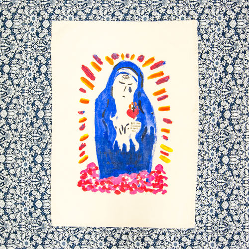 Florence + The Machine: Virgin Mary Tea Towel