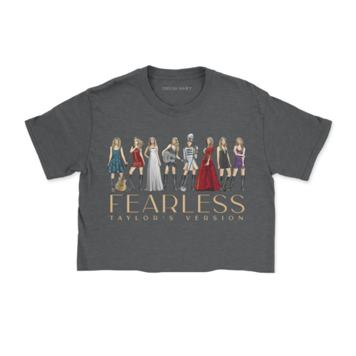 Taylor Swift: Fearless (Taylor's Version) Eras Collection Cropped T-Shirt