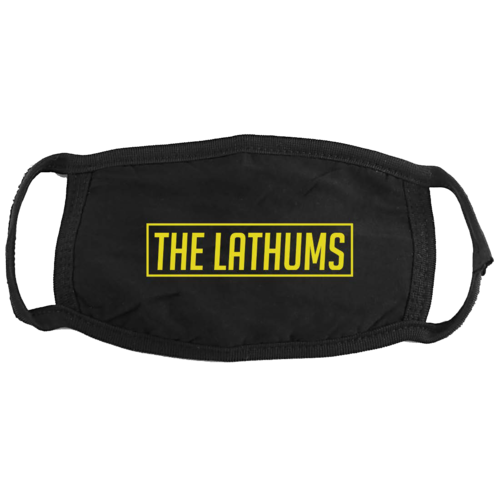 The Lathums: THE LATHUMS FACEMASK