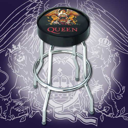 Queen: Queen Classic Crest Bar Stool