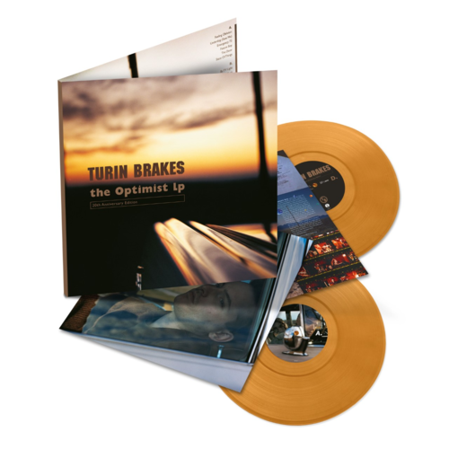 Turin Brakes: The Optimist LP: Limited Edition Amber Vinyl 2LP