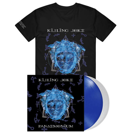 Killing Joke: Pandemonium Coloured Vinyl & T-Shirt Bundle