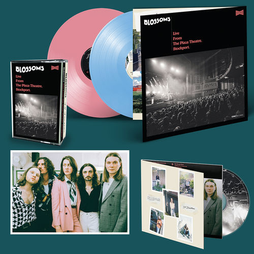 Blossoms: DOUBLE CD (SIGNED), DOUBLE COLOURED LP (SIGNED), DOUBLE COLOURED CASSETTE (SIGNED) & PRINT (SIGNED) BUNDLE