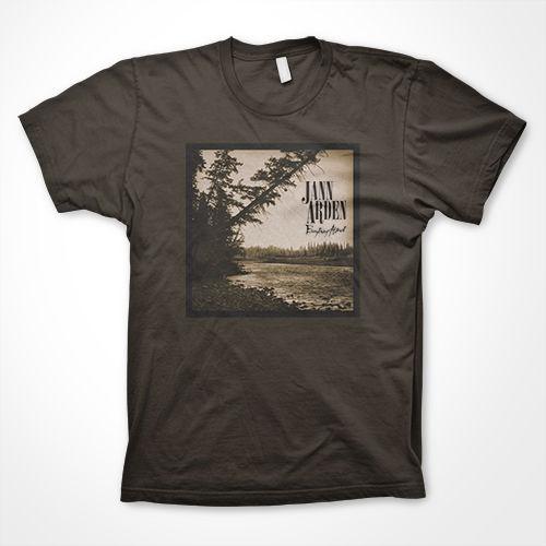 Jann Arden: Jann Arden - Everything Almost Brown 'Landscape Photo' Tee