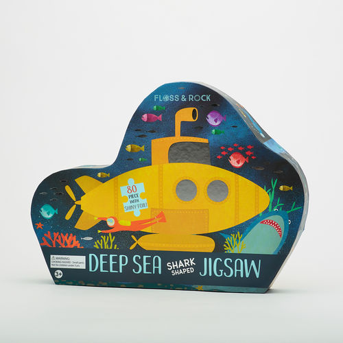 Abbey Road Studios: Deep Sea Shark-Shaped Jigsaw