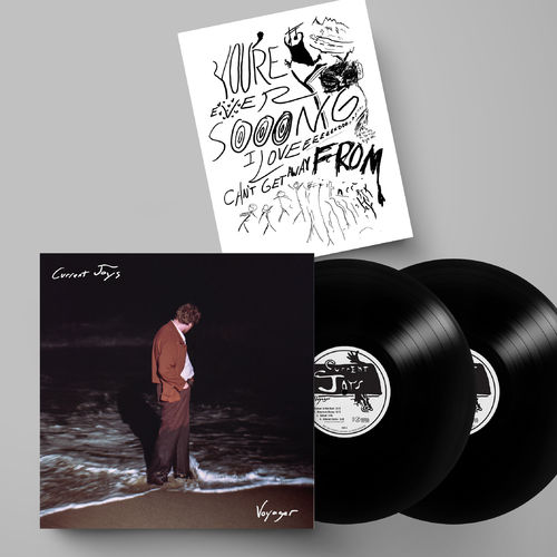 Current Joys: Voyager: Black Vinyl 2LP + Signed Lyric Print