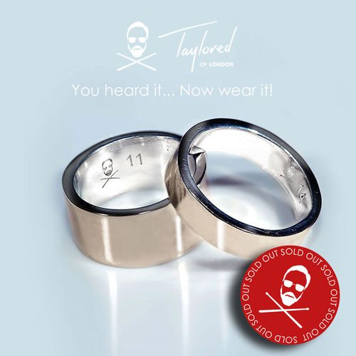 Roger Taylor: 'Taylored' Cymbal Ring (Wide Band)
