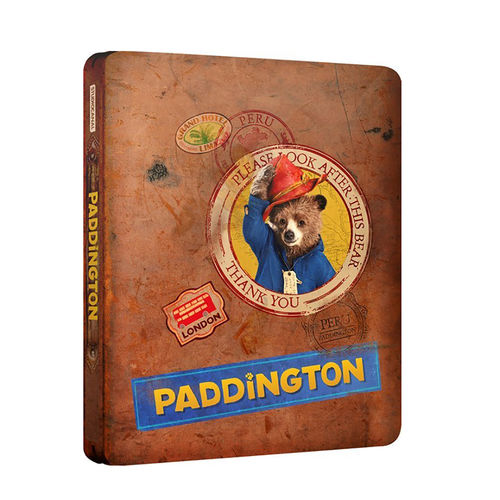 Paddington Bear: Paddington Blu-Ray Steelbook Collector's Edition