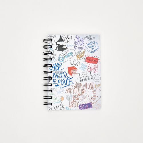 Abbey Road Studios: Abbey Road Studios Graffiti A6 Wiro Notebook