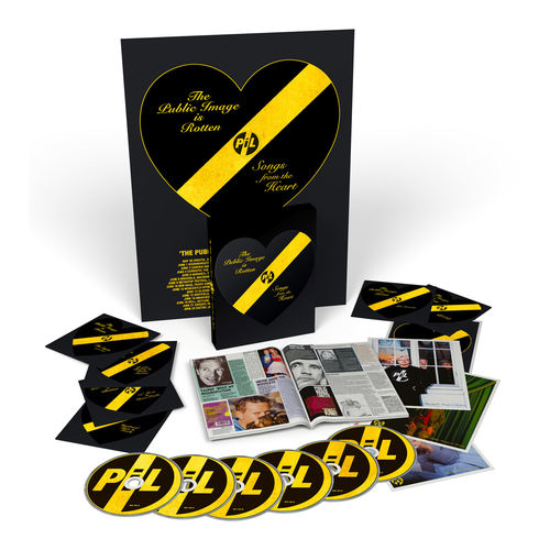 Public Image Limited: The Public Image Is Rotten (Songs From The Heart): CD Box Set + Signed Card
