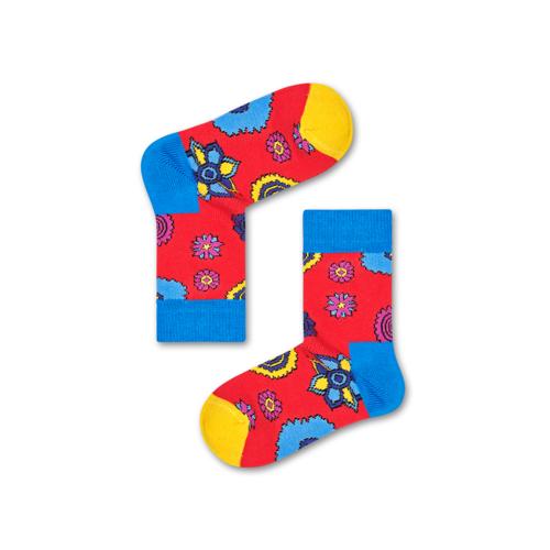 The Beatles: Happy Socks The Beatles Flower Power Sock - 2-3Y