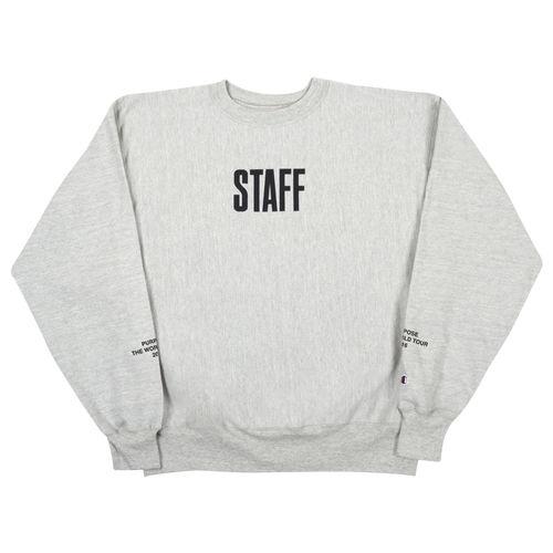 Justin Bieber: Staff Stage Crewneck