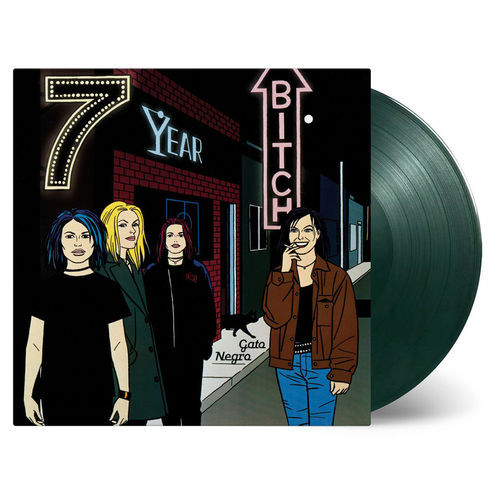 7 Year Bitch: Gato Negro: Limited Edition Moss Green Vinyl