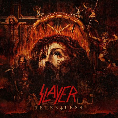 Slayer: Repentless: Limited Edition Inverted Cross Digipack