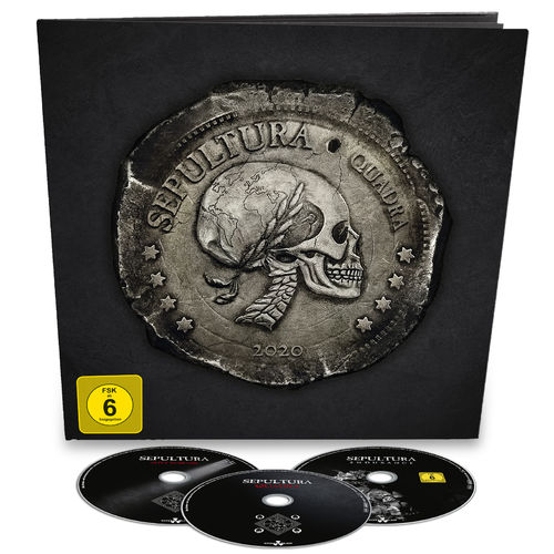 Sepultura: Quadra: Limited 2CD + Blu-Ray Earbook