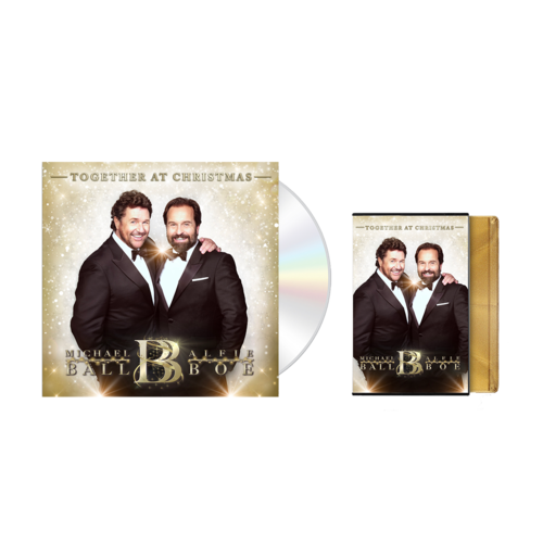 Michael Ball & Alfie Boe: Together At Christmas Signed Bundle