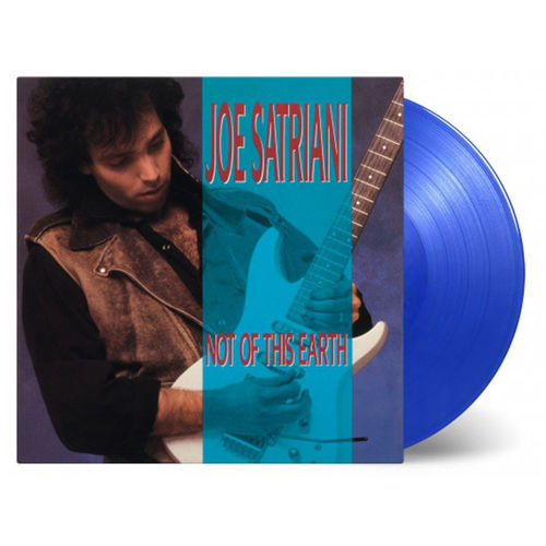 Joe Satriani: Not Of This Earth: Limited Edition Translucent Blue Vinyl
