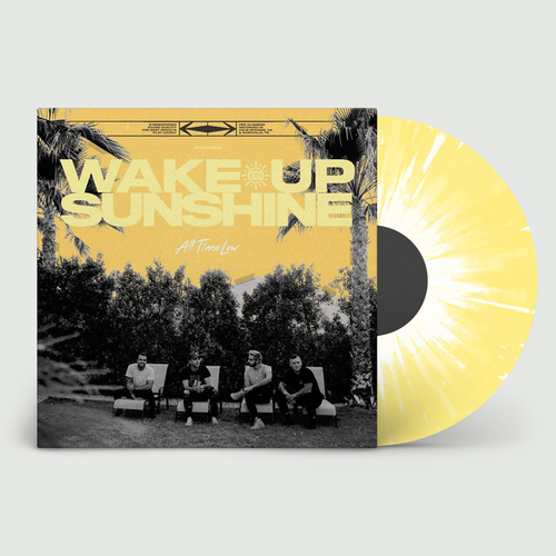 All Time Low: Wake Up Sunshine: Limited Edition Custard + White Splatter Vinyl
