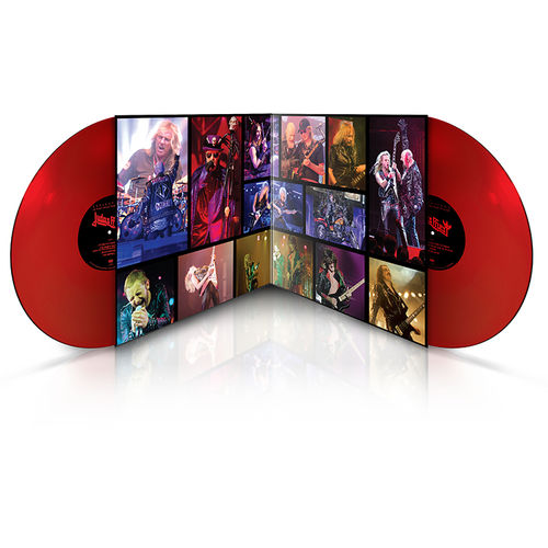 Judas Priest: Reflections – 50 Heavy Metal Years Of Music: Limited Edition Red vinyl