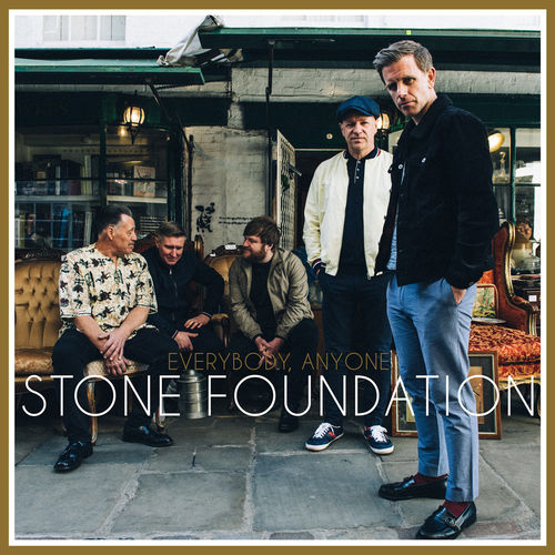 Stone Foundation: Everybody, Anyone: Signed White Vinyl