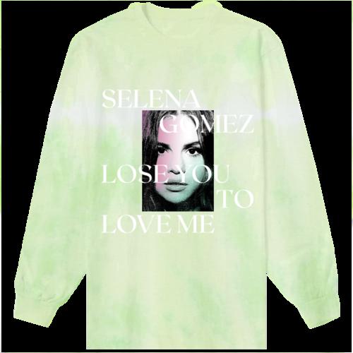 Selena Gomez : Lose You To Love Me Tie Dye Longsleeve