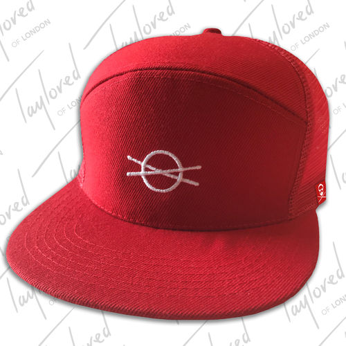 Roger Taylor: 'Taylored' Red Truckers Cap