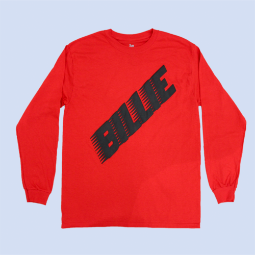 Billie Eilish: RED BILLIE LONG SLEEVE
