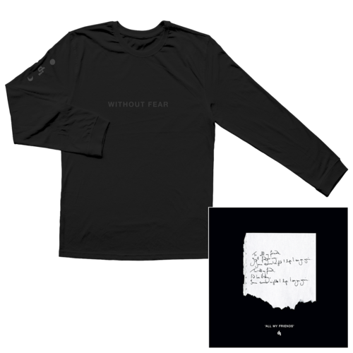 Dermot Kennedy: Signed Litho + Black on Black Longsleeve