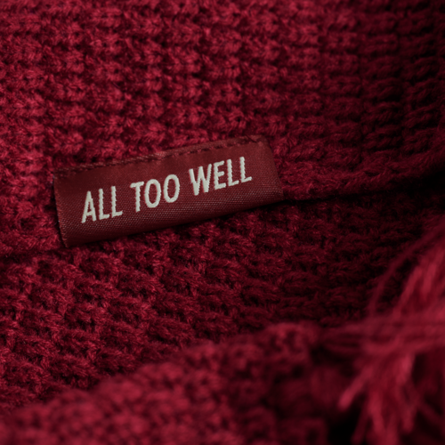 Taylor Swift: The All Too Well Knit Scarf
