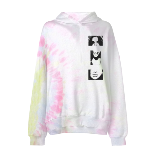 Selena Gomez : Lose You To Love Me Tie Dye PO Hoodie