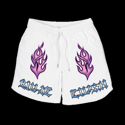 Billie Eilish: Flame Shorts
