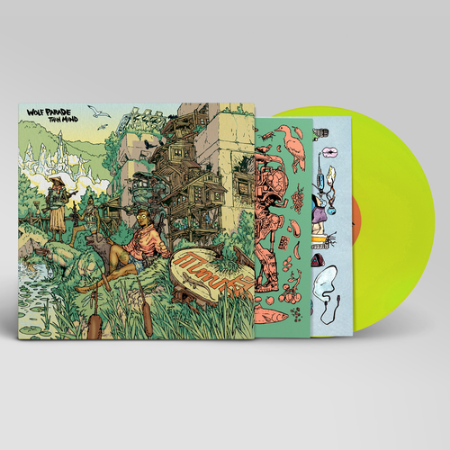 Wolf Parade: Thin Mind: Loser Edition Lime Green Vinyl